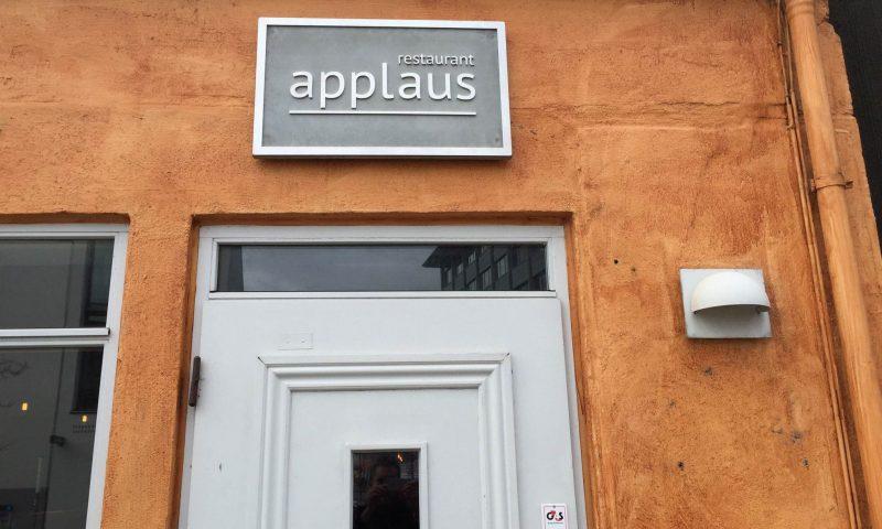 Restaurant Applaus åbnede i april