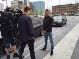 Thomas Enevoldsen interviewes