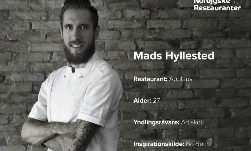 Mads Hyllested er anfører for Team Nordjylland i Copenhagen Cook-off. Foto: Leerbech