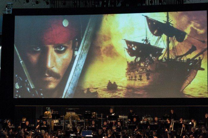 Musikkens Hus opfører blandt andet Pirates-filmene med Aalborg symfoniorkester Foto: renejeppesen.dk