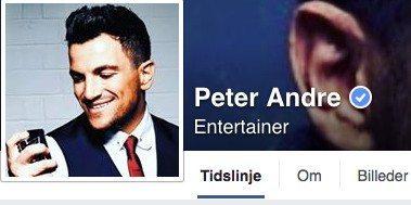 Peter André kommer til Aalborg  Foto: Peter Andre Facebook-profil