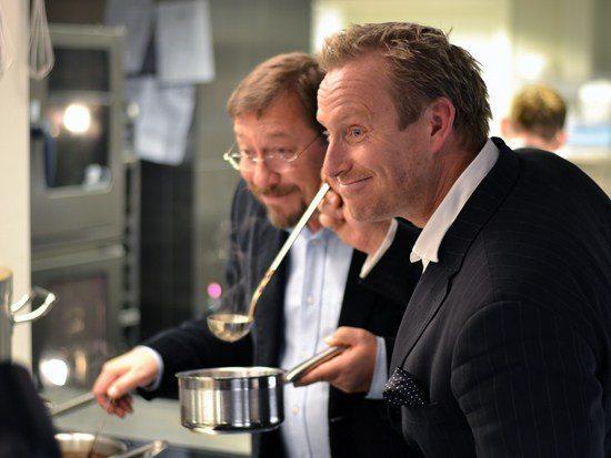 Brødrene Adam og James Price ved åbning af en af deres restauranter i København. Foto: Gastromand.dk