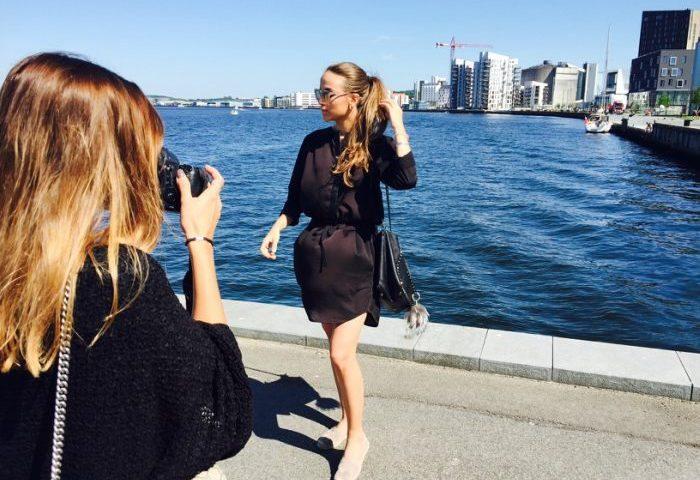 Der blev taget billeder ved Havnefronten til Bloggers Camp