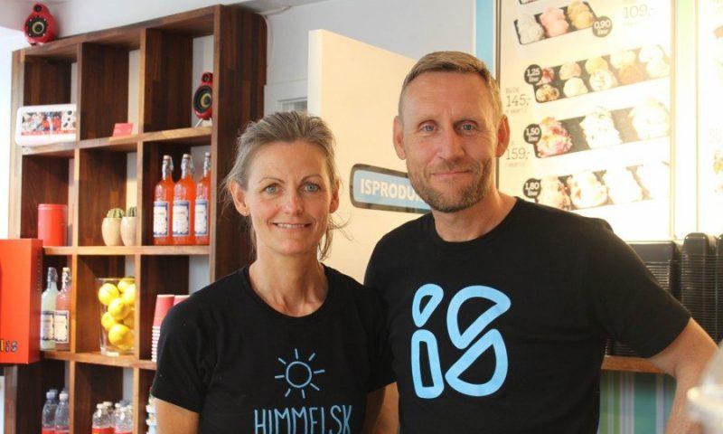 Merete og Michael har Paradis butikkerne i Aalborg