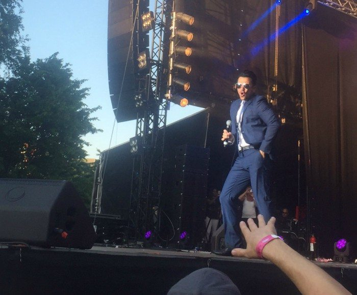 Peter Andre i Aalborg