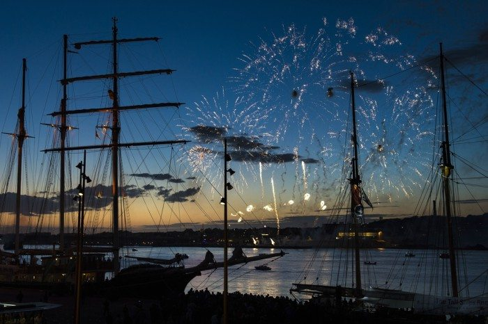 Fantastisk billede fra sidste Regatta Foto: Aalborg Event
