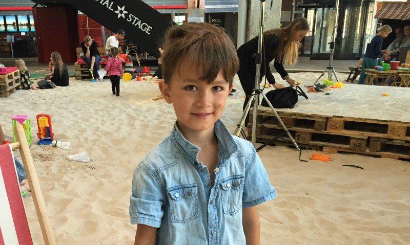 Redaktionens yngste Lucas hyggede sig på
