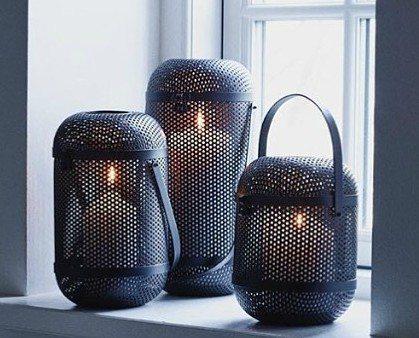 Il Gusto i Nørregade 14 anbefales. De forhandler blandt andet disse lanterner fra Louise Roe.  Foto: Il Gusto Facebook