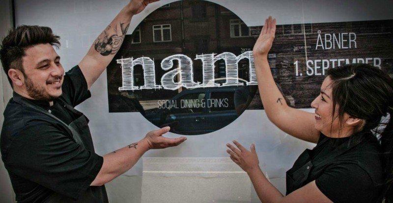 Stjernekokken Kim Jeppesen og hans kæreste Anne-Marie åbner Nam 1. september i Aalborg