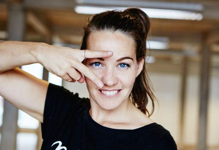Kathrine Skovsgaard som er en del af BoxTown-projektet og Byens Torv. Foto: Events by Skovsgaard