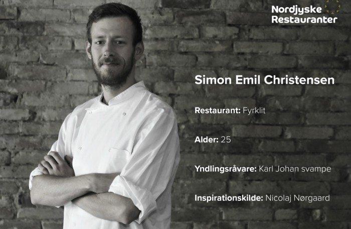 Simon Emil Christensen fra Fyrklit Foto: Leerbech