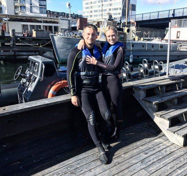 Amanda og hendes kæreste, Frederik