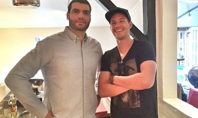 Daniel Svensson her i selskab med Thomas Enevoldsen er klar til comeback til tophåndbold