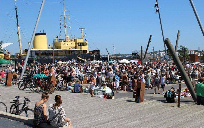 Lopper på Havnen