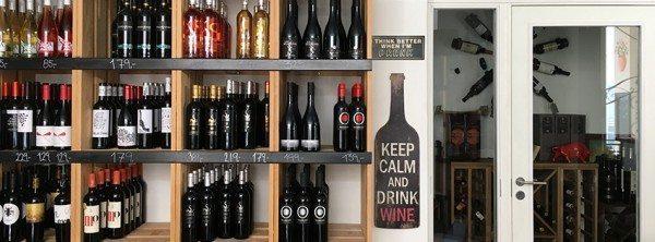 D'Wine Bar og butik har ligget i Algade siden april 2014
