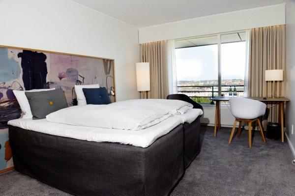 Et værelse på Hotel Comwell Hvide Hus