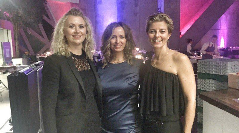 Tre fra bestyrelsen i Gestus Nord. Venstre Janni Lund Hedegaard (Unioil-Supply), midten formand Trine Holm (Progreso) og Marianne Schütze (Din Sundshedscoach)