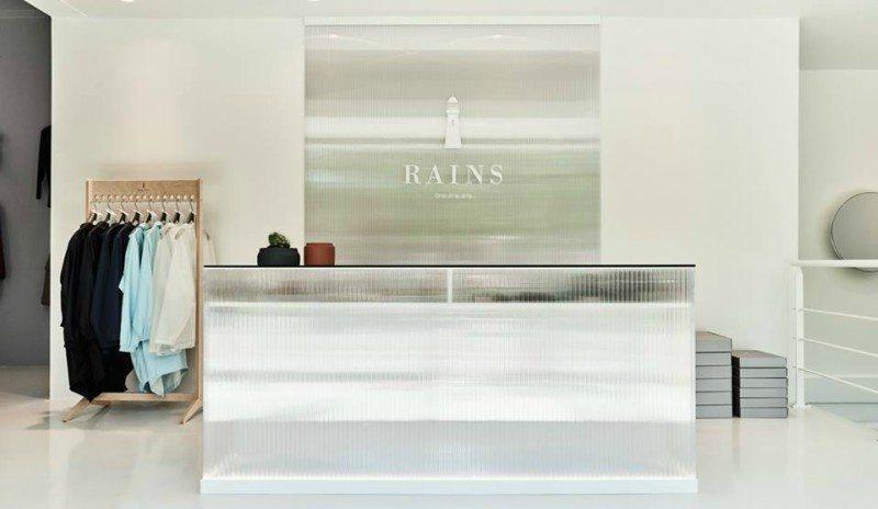 Sådan ser Rains-butikken ud i Aarhus. Det kommer sandsynligvis til at være i samme stil i Aalborg