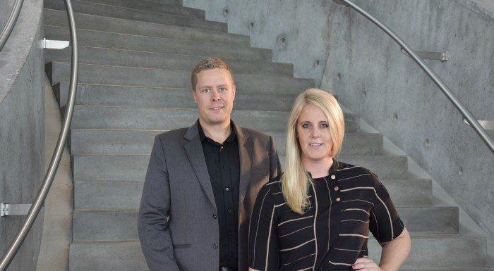 Lisa og hendes partner i GoodiePack, Rene Jespersen