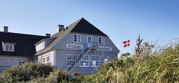 Foto: Svinkløv Badehotel som det oprindeligt så ud før den forfærdelige ulykke