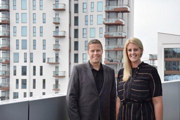 Lisa Bønsdorff Dalsgaard og hendes partner, Rene Jespersen