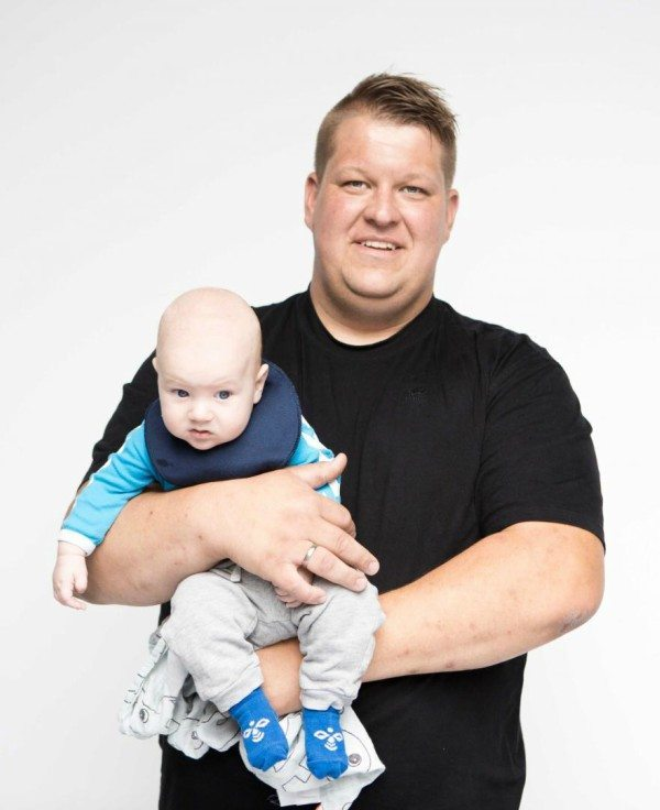 Gert og sønnen Magne Foto: Discovery Network