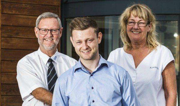 Brian Fabricius (forrest) er en af Danmarks yngste hoteldirektører