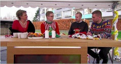 Jesper og Johnny var med sidste år, da DR3 talte ned til juleaften