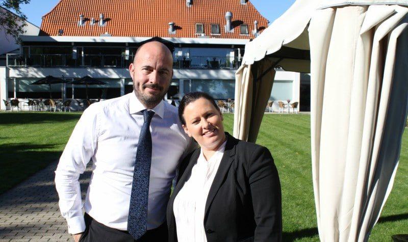Bühlmann-parret Anemette og Danni skal stå for det nye superhotel i Aalborg