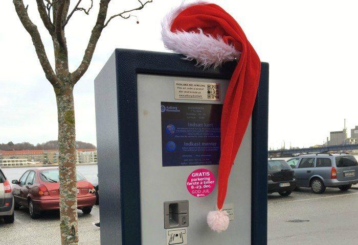 Aalborg Kommune giver 2 timers gratis parkering fra 8-23 december