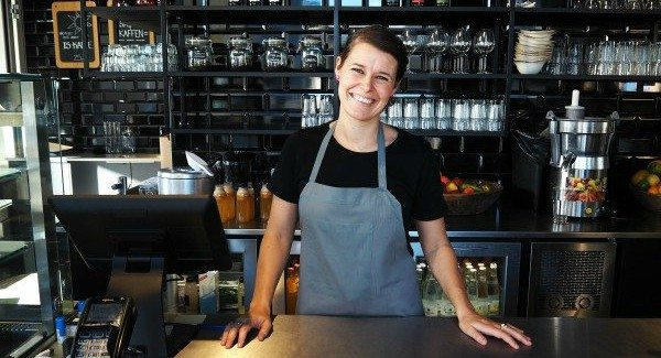 Restaurantchef Tinna Bøgeskov Schultz Foto: Veronika Popova