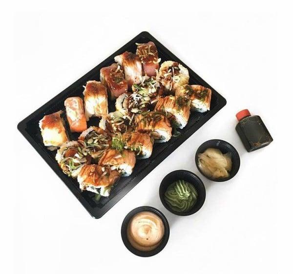 Nanking laver også sushi. Foto: Nankings Facebook-side
