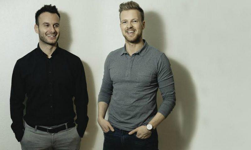 Stifterne af Din Mægler. Rasmus Lund Christensen (venstre) og Lasse Frederik Pedersen