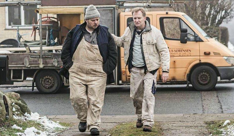 Nicolas Bro og Ulrich Thomsen spiller hovedrollerne i den nye store danske satsning, Dræberne fra Nibe Foto: Nordisk Film