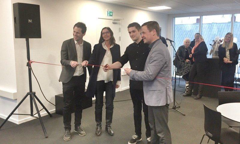Den nye læsesal i Studenterhuset i Aalborg blev indviet i eftermiddag