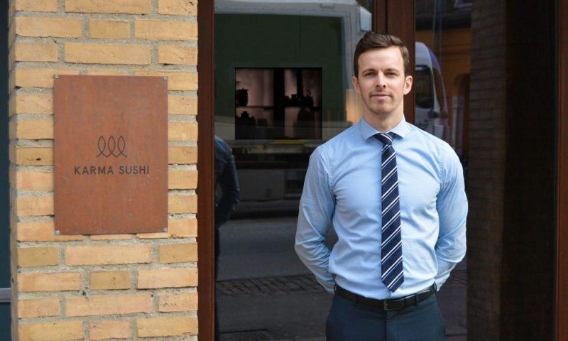 Kasper Hansson er den ene af de to brødre bag Karma Sushi og VACA