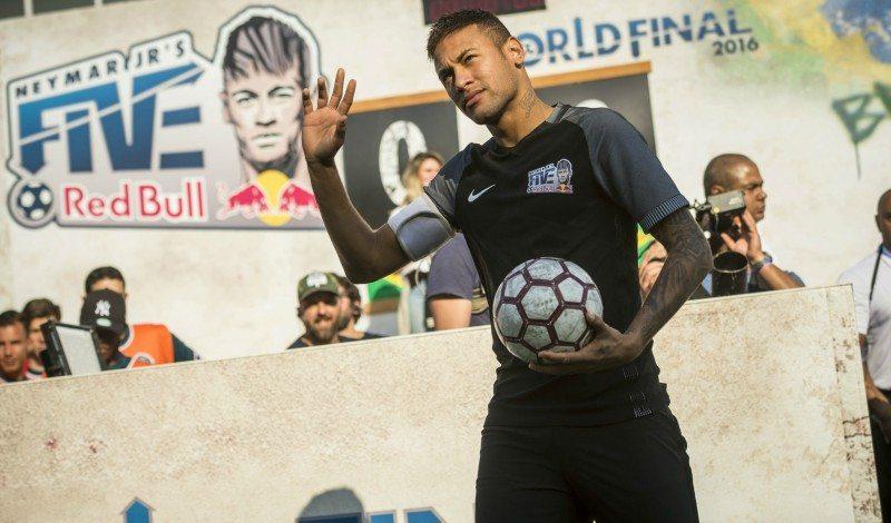 Neymars fodboldturnering kommer til Aalborg Foto: PR