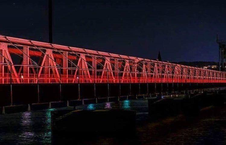 Sådan kommer den nye Kulturbro til at se ud om aftenen