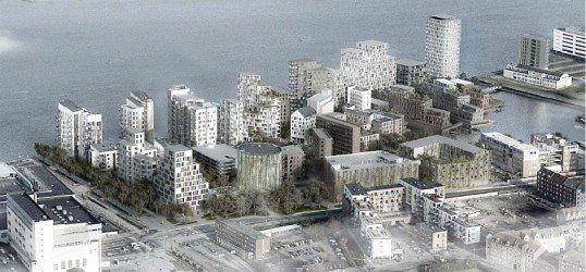 Østre Havn bliver Aalborgs Manhatten