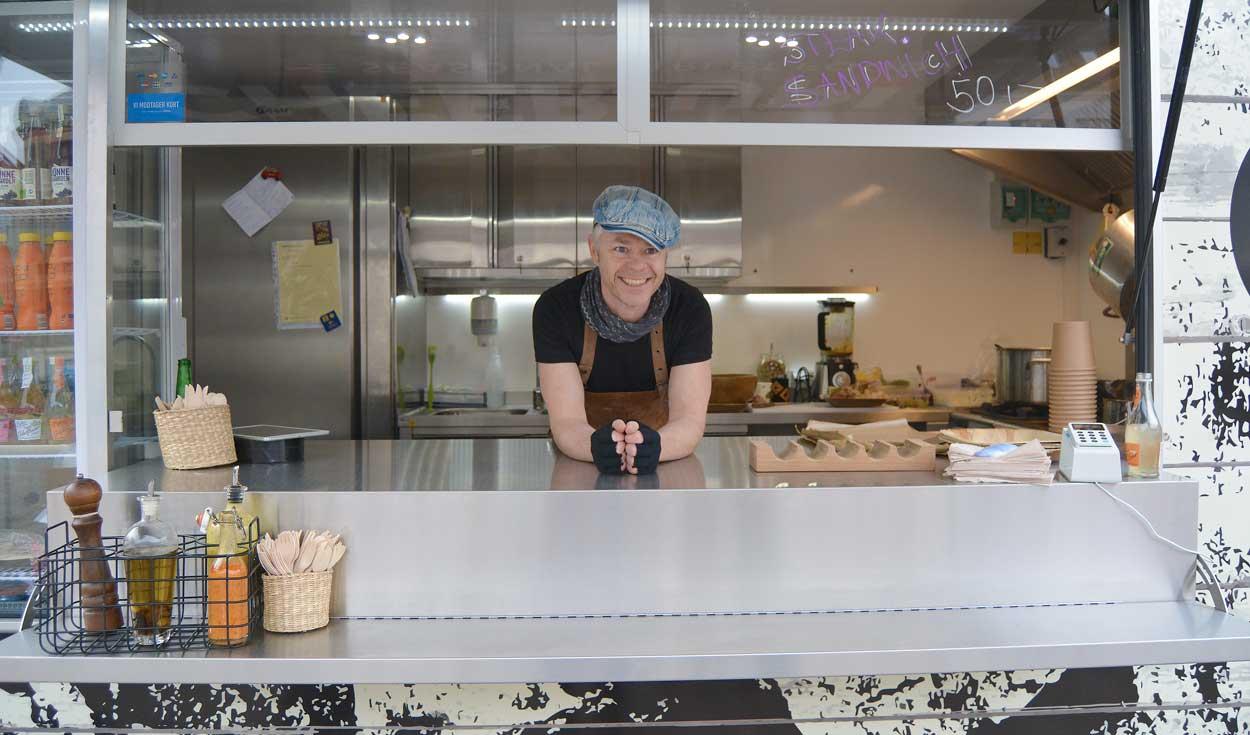Amerikansk fænomen hitter: Bo har Aalborgs første Foodtruck