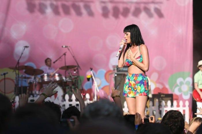 Katy Perry spillede på Nibe i 2009