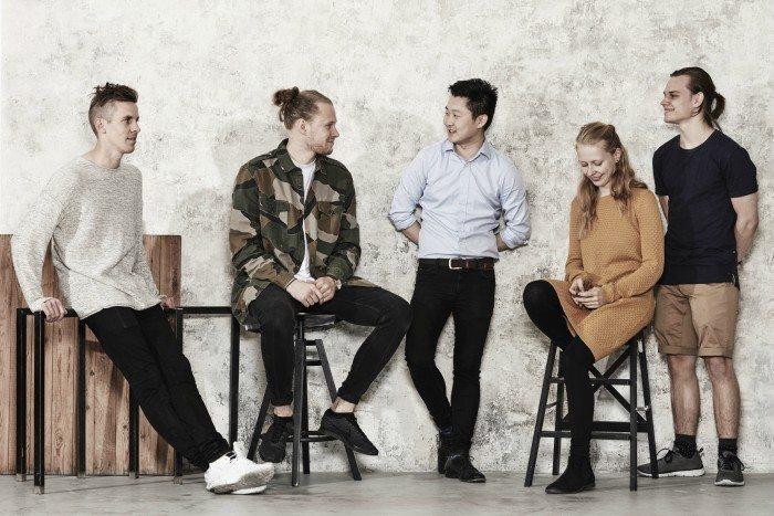 Dennis Juhl i midten er nomineret til Årets Kokkeprofil i Danmark