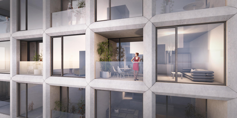 26 lejligheder tegnet af BIG: Her kommer Aalborgs dyreste lejlighed til salg