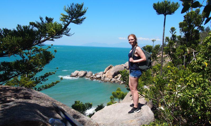 Christine Sørensen er kommet til Australien med støtte fra Nordea Fondens legat