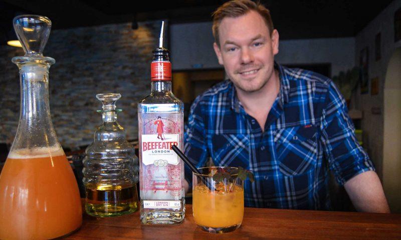 Claus har før deltaget i den nationale finale Beefeater MIXLDN med drinken Windy Buckthorn