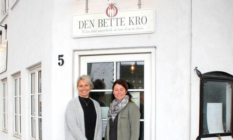 Jeannette (tv) og Gitte står bag den nye udgave af Den Bette Kro