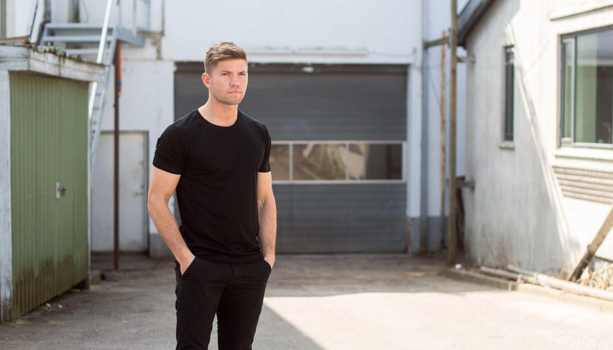 Passer perfekt: Aalborg-firma har ramt hele landet med nyt t-shirt koncept