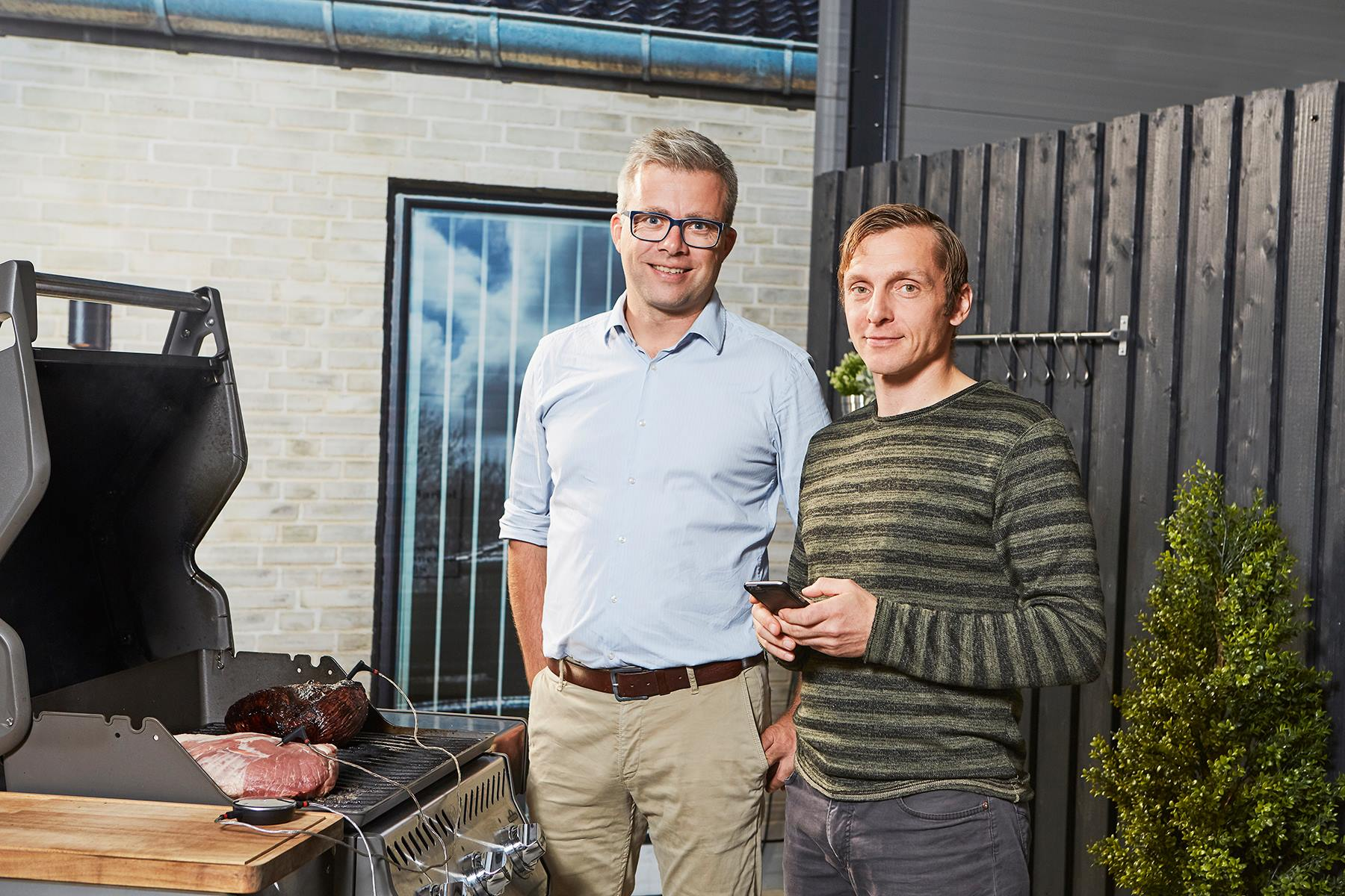 De to stiftere af CookPerfect