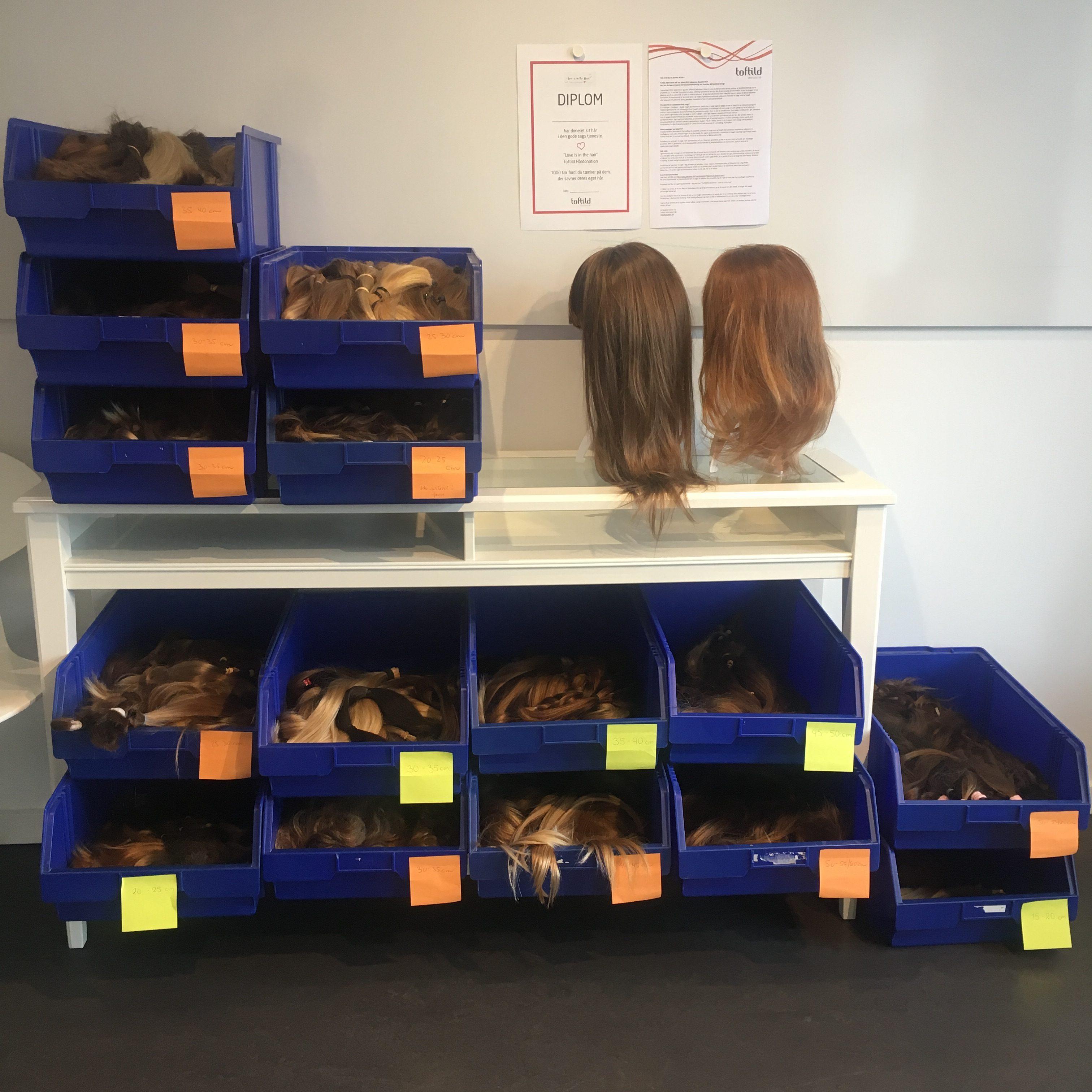 Toftild hår fra Aalborg indsamler hår og donerer til Knæk Cancer