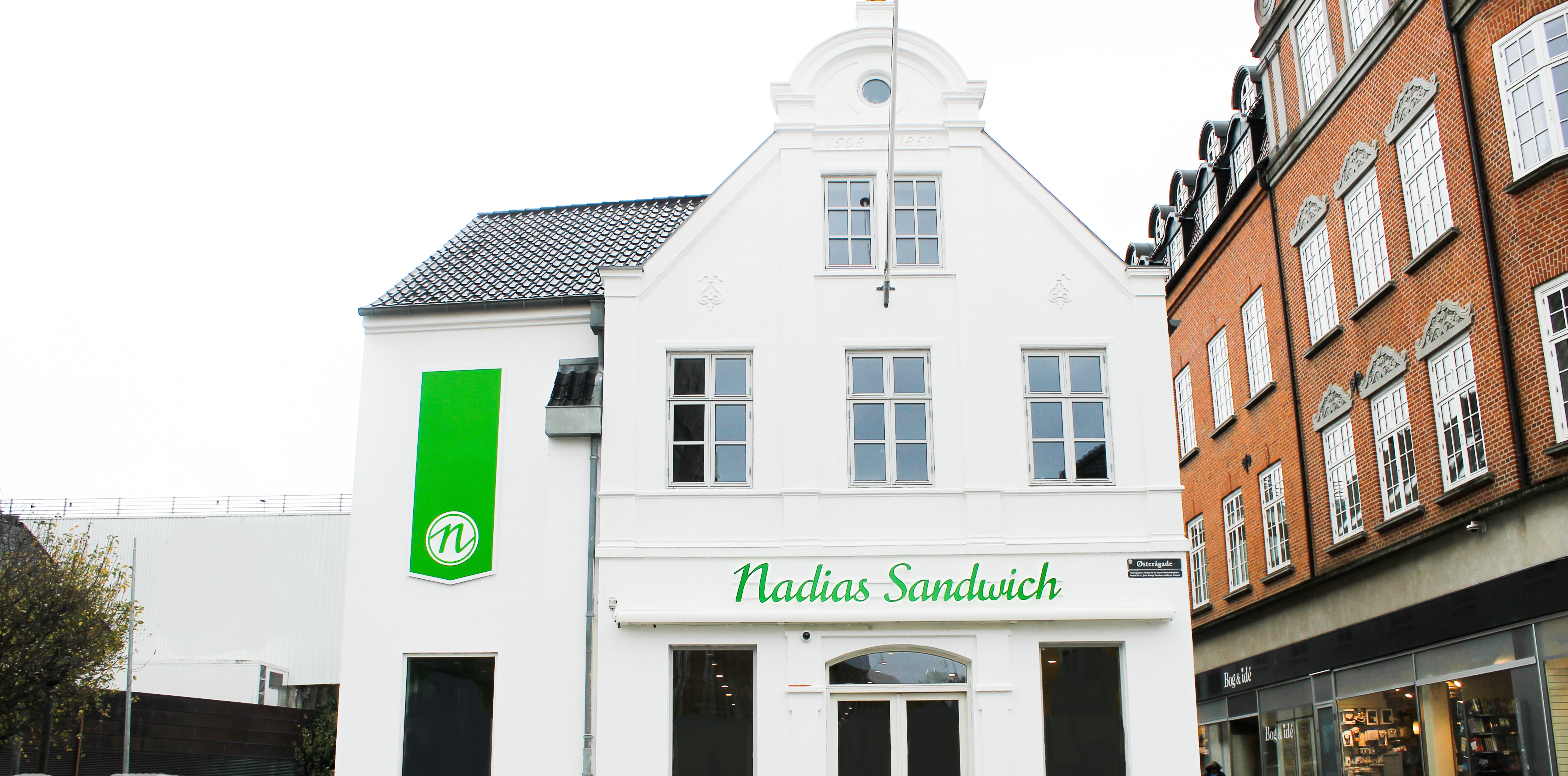 Nadias nye store butik i Aalborg midtby